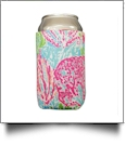 The Floridian Series 12oz Neoprene Can Koozie - PASTEL CORAL