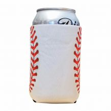 Baseball Print 12oz Neoprene Can Coolie