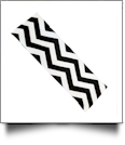 The Coral Palms™ Stretch Headband in Chevron Print - BLACK/WHITE - CLOSEOUT
