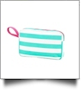 Toiletry Bag Embroidery Blanks - SKYLAR STRIPE - SPECIAL PURCHASE