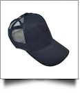 The Coral Palms� Ponytail Trucker Cap - NAVY - CLOSEOUT
