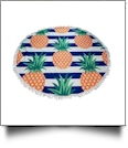Pineapple Stripe Print 60