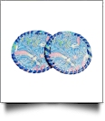 "3"" EasyStitch Medallion Add-Ons One Pair - ROYAL MERMAID - CLOSEOUT"