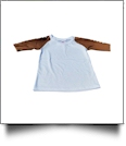 The Coral Palms™ Toddler Sports Raglan Shirt - FOOTBALL/WHITE