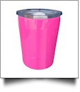 8oz Double Wall Stainless Steel Super Tumbler - HOT PINK