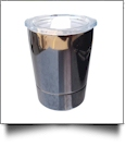 8oz Double Wall Stainless Steel Super Tumbler - BLACK