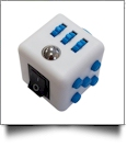 Fidget Cube  - WHITE/BLUE