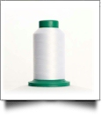 0010 Silky White Isacord Embroidery Thread - 5000 Meter Spool