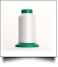 0015 White Isacord Embroidery Thread - 5000 Meter Spool