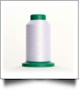 0017 Paper White Isacord Embroidery Thread - 5000 Meter Spool