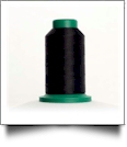0020 Black Isacord Embroidery Thread - 5000 Meter Spool