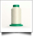 0101 Eggshell Isacord Embroidery Thread - 5000 Meter Spool