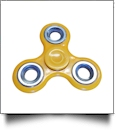 Fidget Spinner - YELLOW/SILVER - CLOSEOUT