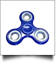 Fidget Spinner - BLUE/SILVER - CLOSEOUT