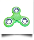 Fidget Spinner - LIME/SILVER - CLOSEOUT