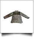 The Coral Palms™ Kid's Frosted Quarter-Zip Sherpa Pullover - BROWN