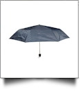 "Compact Foldable Umbrella with 34"" Diameter - NAVY"