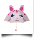"Child's Character Umbrella with 24"" Diameter - KITTY CAT"