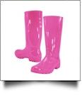"13.5"" Women's Rain Boots - FUCHSIA - CLOSEOUT"