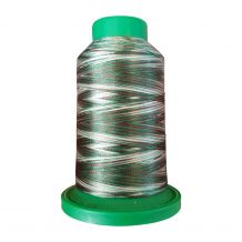 9982 Pine Forest Multicolor Variegated Isacord Embroidery Thread