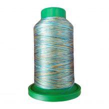 9978 Egyptian Turquoise Multicolor Variegated Isacord Embroidery Thread