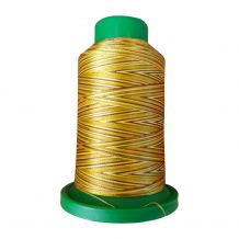9975 Autumn Harvest Multicolor Variegated Isacord Embroidery Thread
