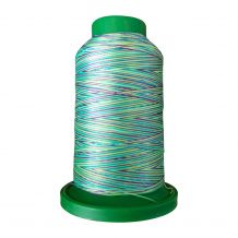 9971 Emerald City Multicolor Variegated Isacord Embroidery Thread