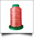 9924 Atomic Orange Multicolor Variegated Isacord Embroidery Thread