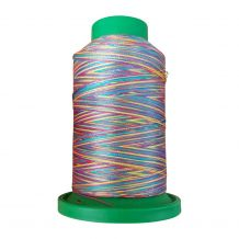 9916 Rainbow Multicolor Variegated Isacord Embroidery Thread