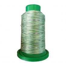 9805 Shades of Grass Multicolor Variegated Isacord Embroidery Thread