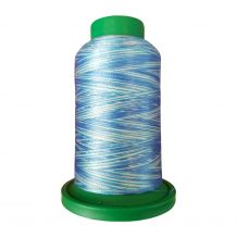 9605 Ocean Multicolor Variegated Isacord Embroidery Thread