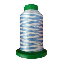 9603 The Blues Multicolor Variegated Isacord Embroidery Thread