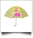 "Child's Character Umbrella with 24"" Diameter - ELEPHANT"