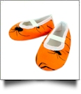 Halloween Print Baby Crib Shoes - SPIDER - CLOSEOUT