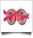 Sequin Baby Crib Shoes - LIGHT PINK - CLOSEOUT