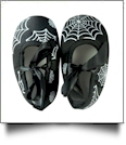 Halloween Print Baby Crib Shoes - SPIDER WEB - CLOSEOUT