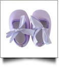 Soft & Fuzzy Baby Crib Shoes - LAVENDER - CLOSEOUT