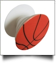 Cell Phone Pop Stand in Basketball Print