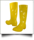 "13.5"" Women's Rain Boots - YELLOW"