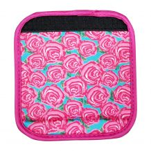 The Coral Palms® Luggage & Sewing Tote Handle Wrap - RADIANT ROSES