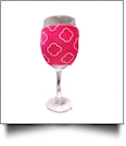 The Coral Palms® EasyStitch Zipper Wrap-Around Wine Glass Coolie - CLOVER