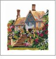 Cottages 1 Amazing Designs ADC-12J Jumbo Embroidery Designs on CD