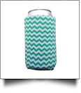 The Coral Palms™ 12oz Neoprene Can Coolie - CHEVRON