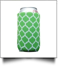 The Coral Palms™ 12oz Neoprene Can Coolie - QUATREFOIL