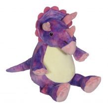 Embroidery Buddy Stuffed Animal - Wendy Dino 16""