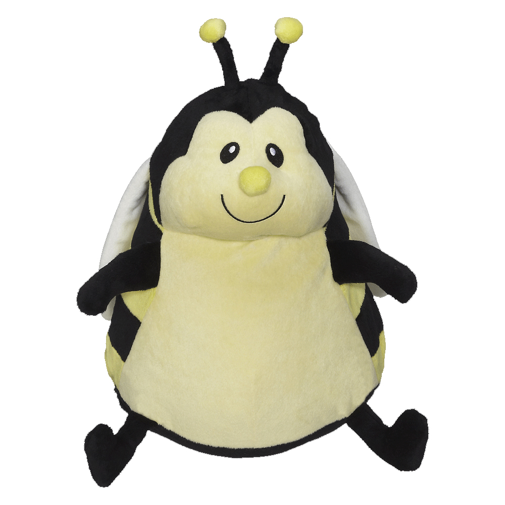 Embroidery Buddy Stuffed Animal Missy Bumble Bee 16