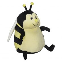 Embroidery Buddy Stuffed Animal - Missy Bumble Bee 16""