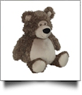 Embroidery Buddy Stuffed Animal - Bobby Buddy Bear, Brown 16""