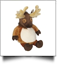 Embroidery Buddy Stuffed Animal - Edward Elk 16""
