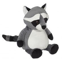 Embroidery Buddy Stuffed Animal - Rinaldo Raccoon 16""